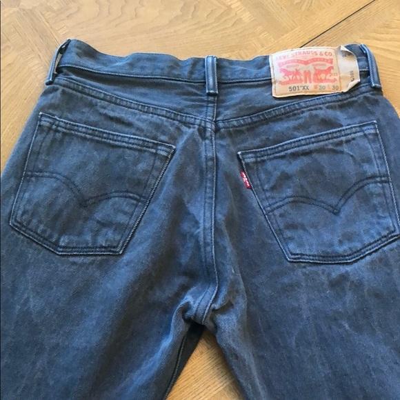 e4c7d70351d Levi s Denim - Vintage Levi s 501 xx jeans button fly RARE